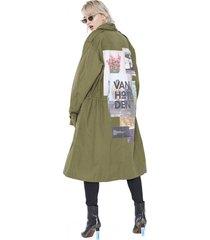 płaszcz chokeebery army coat