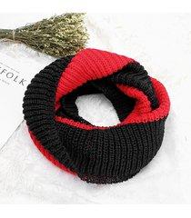 sciarpe casuali della sciarpa soft di modo degli scialli della sciarpa del colletto tricottato solido caldo delle donne