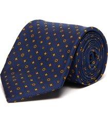 mixed print tie