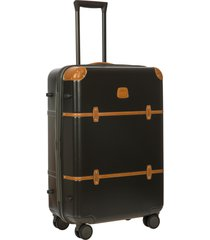 bric's bellagio 2.0 27-inch rolling spinner suitcase - black