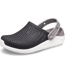 sandália literide kids crocs ™ preto/branco