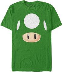 nintendo men's super mario 1 up mushroom costume short sleeve t-shirt