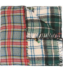 pierre-louis mascia aloeuw panelled silk scarf - multicolour