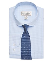 1905 collection boys classic fit check dress shirt & tie set, by jos. a. bank