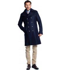 płaszcz spy coat navy