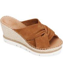 gentle souls by kenneth cole women's elyssa braid sandals women's shoes