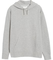 men's bp. ottoman pullover hoodie, size xx-large - grey