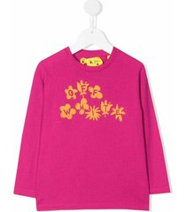off flower l/s t-shirt