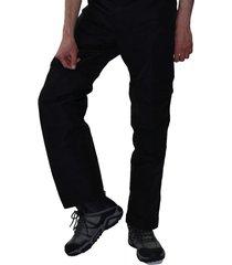 pantalón de senderismo negro santana aconcagua