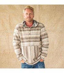 sonoran stripe pullover