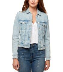 sanctuary kyle cropped jean jacket