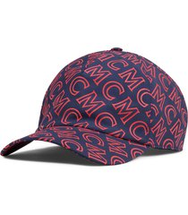men's mcm monogram baseball cap -