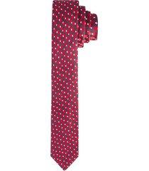 corbata pala ancha en poliéster con textura para hombre 02474