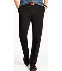pantalon clark fit stretch chino negro brooks brothers