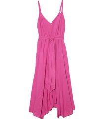 karolina dress in pink flame