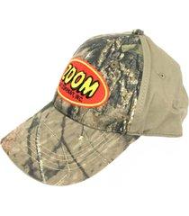 new zoom bait co fishing lure red black hat baseball mesh trucker adjustable cap