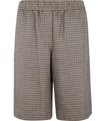 brunello cucinelli checked shorts
