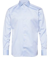 cambridge-collection-slim fit overhemd business blauw eton