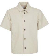 bottega veneta knotted cotton shirt