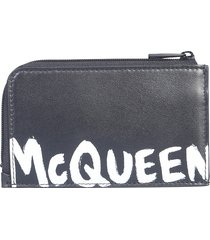 alexander mcqueen designer men's bags, zip money pouch
