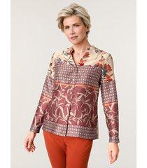 blouse mona ecru::terracotta