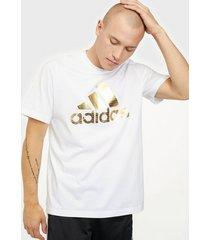 adidas sport performance universal foil tränings t-shirts white