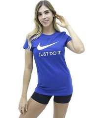 camiseta azul nike nsw jdi slim
