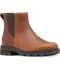 sorel lennox lug sole chelsea booties women's shoes