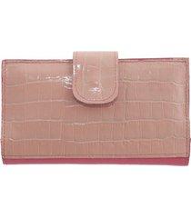 billetera rosa bohemia