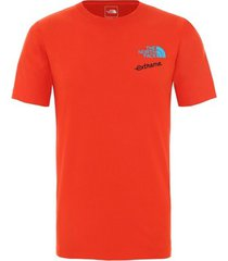 t-shirt korte mouw the north face -