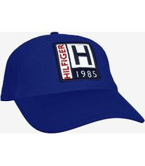tommy hilfiger men's logo badge baseball cap canyon lake -