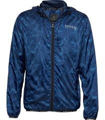 outer-wear tunn jacka blå blend