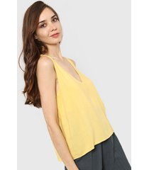 blusa amarilla nano kendal liso