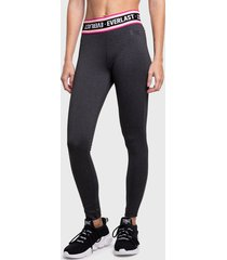 legging everlast long smokey gris - calce ajustado