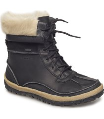 tremblant mid polar wtpf black shoes sport shoes ankle boots ankle boot - flat svart merrell