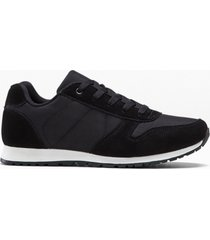 sneaker in pelle (nero) - bpc bonprix collection