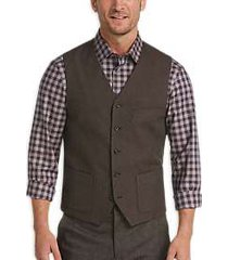 joseph abboud brown vest