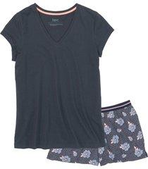 pigiama corto (blu) - bpc bonprix collection