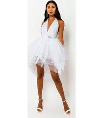 akira best on earth deep v mini dress