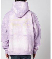 martine rose men's classic hoodie - mauve - l