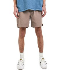 bdg urban outfitters twill shorts, size large in stone at nordstrom