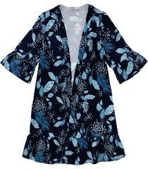 kimono azul  offcorss