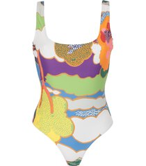 bower one-piece swimsuits
