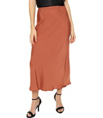 falda marrón asterisco kansas