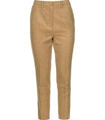 pantalon van wolmix vyenna  naturel