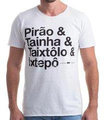 camiseta clothis pirão estonada masculina