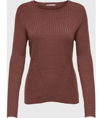 sweater only rojo - calce ajustado