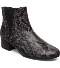 ankle boots shoes boots ankle boots ankle boots with heel grå gabor