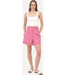 top cropped margareth i - off white - p