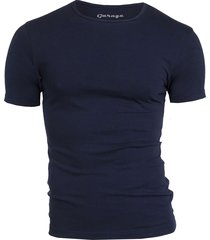 bodyfit t-shirt r-neck navy